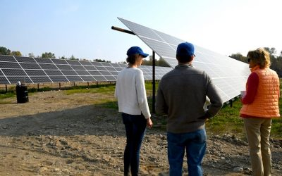 Murkowski Visits Site of Latest Solar Project